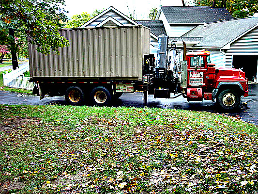 20' Storage Container rented in NY