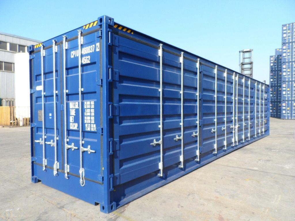 Open Sided Shipping Containers for Sale 20 and 40 Sizes