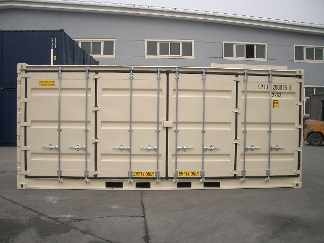 20' open sided shipping container for sale